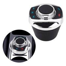 Botón de Control de volante inalámbrico para coche, luz LED, Universal, 8 teclas, para reproductor de navegador Android, forma de taza