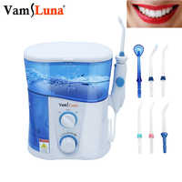 Water Flosser Dental Oral Irrigator for Teeth Brace Clean 1000ml Oral Irrigator With 7 Multifunctional Jet Tips For Family