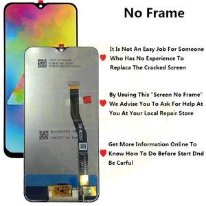 Image 3 - 6.3 סמסונג גלקסי M20 2019 SM M205 M205F M205G/DS LCD עם מסגרת תצוגת מסך מגע Digitizer עצרת להחליף M20 lcd