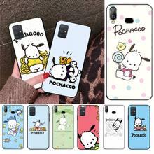 CUTEWANAN Sanrio Pochacco Newly Arrived Black Cell Phone Case For Samsung A10 A20 A30 A40 A50 A70 A71 A51 A6 A8 2018