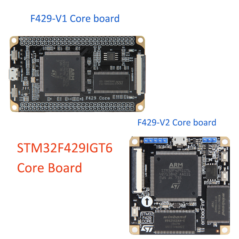 STM32 Development Board Cortex-M4 Small System Board STM32F429IGT6 Core Board