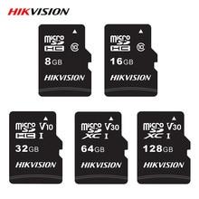 Hikvision – carte mémoire Micro SD, 16 go/32 go/64 go/128 go/classe 10, TF, haute vitesse, pour appareil photo et tablette Android