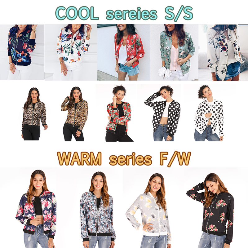 H6fa4ef12c099459aa05a46a887a7a18ai Plus Size Spring Women's Jackets Retro Floral Printed Coat Female Long Sleeve Outwear Clothes Short Bomber Jacket Tops 5XL