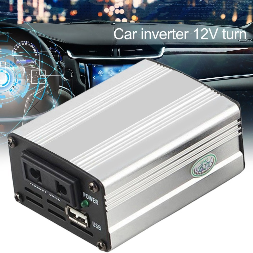 200W Auto Power Inverter Adapter Konverter 12V zu 110 V/220 V Eingang Auto Power Converter fahrzeug Netzteil Ladegerät UK Stecker
