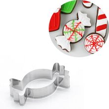 16pcs/set Christmas Tree Snowflake Stainless Steel Cookie Biscuit Cutter Pastry Cake Decor Baking Fondant DIY Mold Tools christmas tree cookies cutter stainless steel biscuit cake mold baking tools