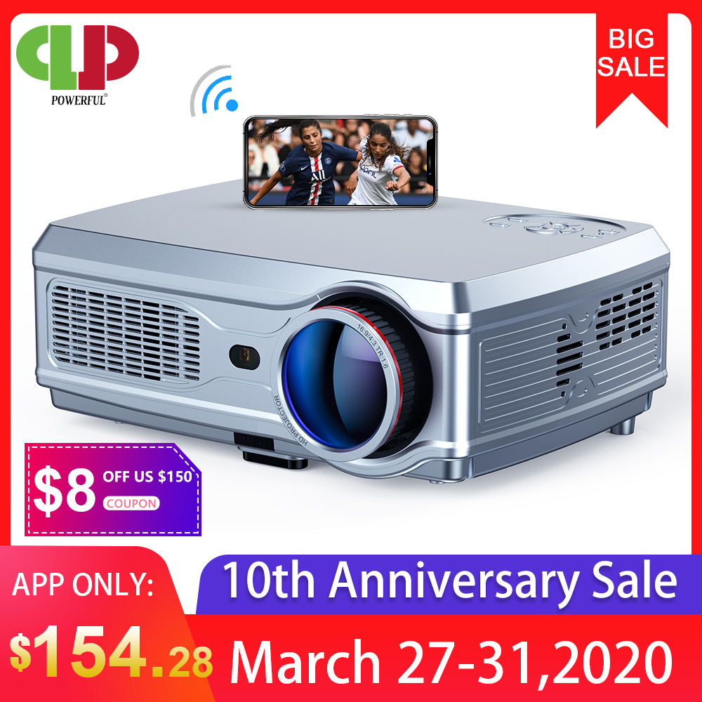 1080P WiFi 3D 4K HD LED Mobile phone wireless Projector Home Theater