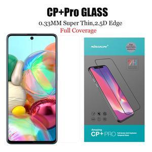 Image 4 - Nillkin cam Samsung Galaxy A51 A71 cam ekran koruyucu 9H 3D tam kapsama için güvenlik temperli cam Samsung a51 A71