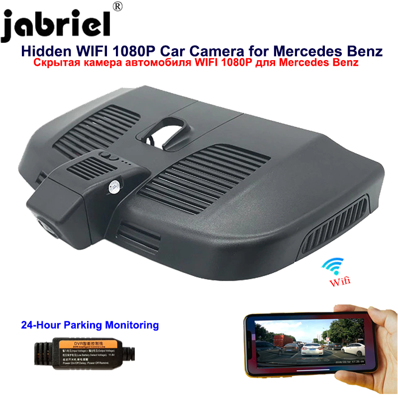 Jabriel Hidden 1080P Wifi <font><b>dash</b></font> <font><b>cam</b></font> car dvr Car Camera for Mercedes Benz vito v260 v260L viano w447 w638 w639 2016 2017 2018 <font><b>2019</b></font> image