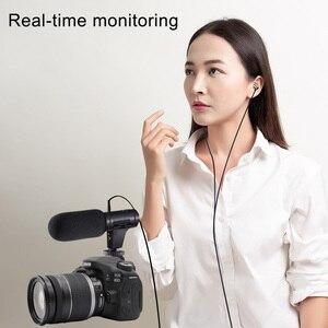 Image 5 - Mamen Siêu Máy Ảnh 3.5 Mm Micro Vlog Chụp Ảnh Cuộc Phỏng Vấn Kỹ Thuật Số HD Video Micro Thu Âm Cho Điện Thoại Thông Minh Và Máy Ảnh