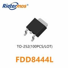 100PCS FDD8444 FDD8444L  TO252 8444
