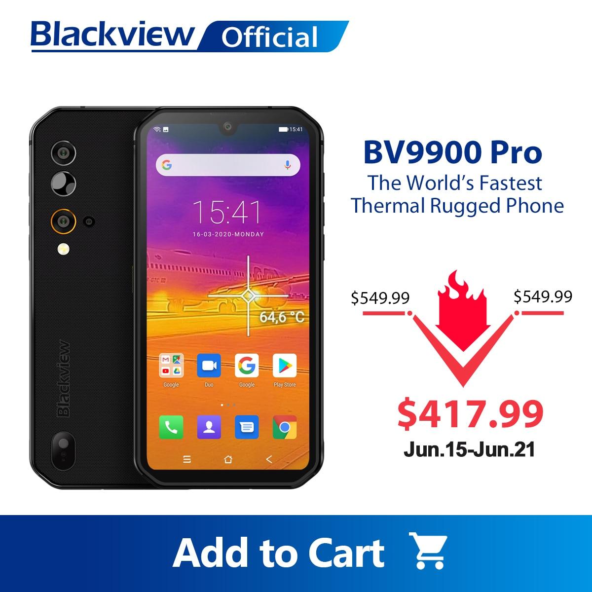 Blackview BV9900 Pro Thermal Camera Mobile Phone Helio P90 Octa Core 8GB+128GB IP68 Rugged Smartphone 48MP Quad Rear Camera|Cellphones|   - AliExpress