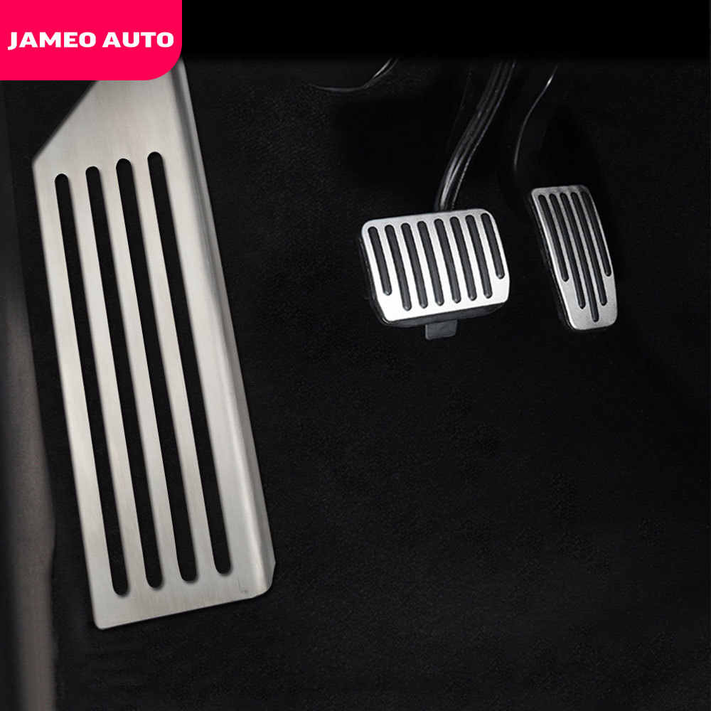Para Evoque Pedal del coche del acelerador Pedal de freno Pedal de De Embrague Accesorios antideslizantes Juego de pedales AT 2Unids