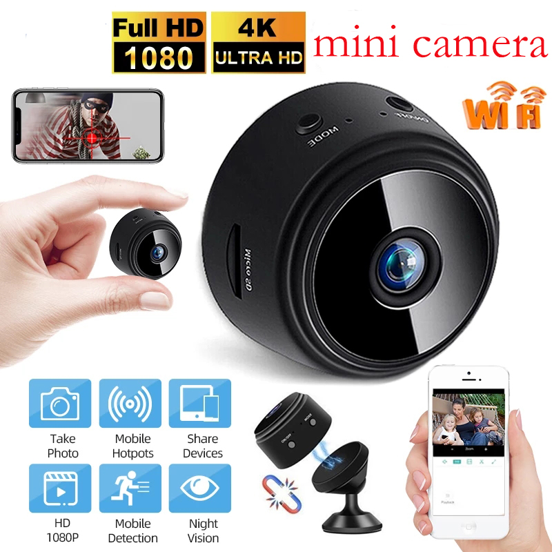 A9 Wifi Mini ip Camera Outdoor Night Version Micro Camera Camcorder Voice Video Recorder Wireless HD Security Mini Camcorders