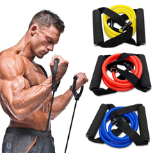 120cm Elastic Resistance Bands Yoga Pull Rope Fitness Workout Sports  Rubber Tensile Expander Banda Elastica T