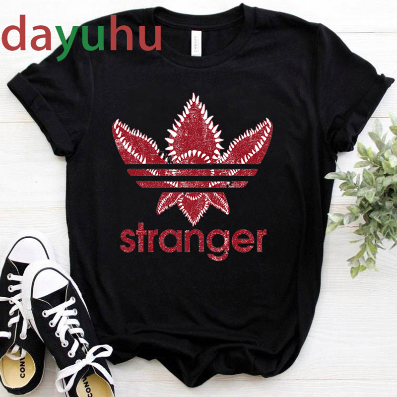 New Stranger Things Season 4 T Shirt Women Kawaii Cartoon Summer Tops 2020 T-shirt Funny Upside Down Graphic Tees Unisex Female