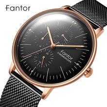 Men Watch Fantor Top Luxury Brand Chronograph Watch