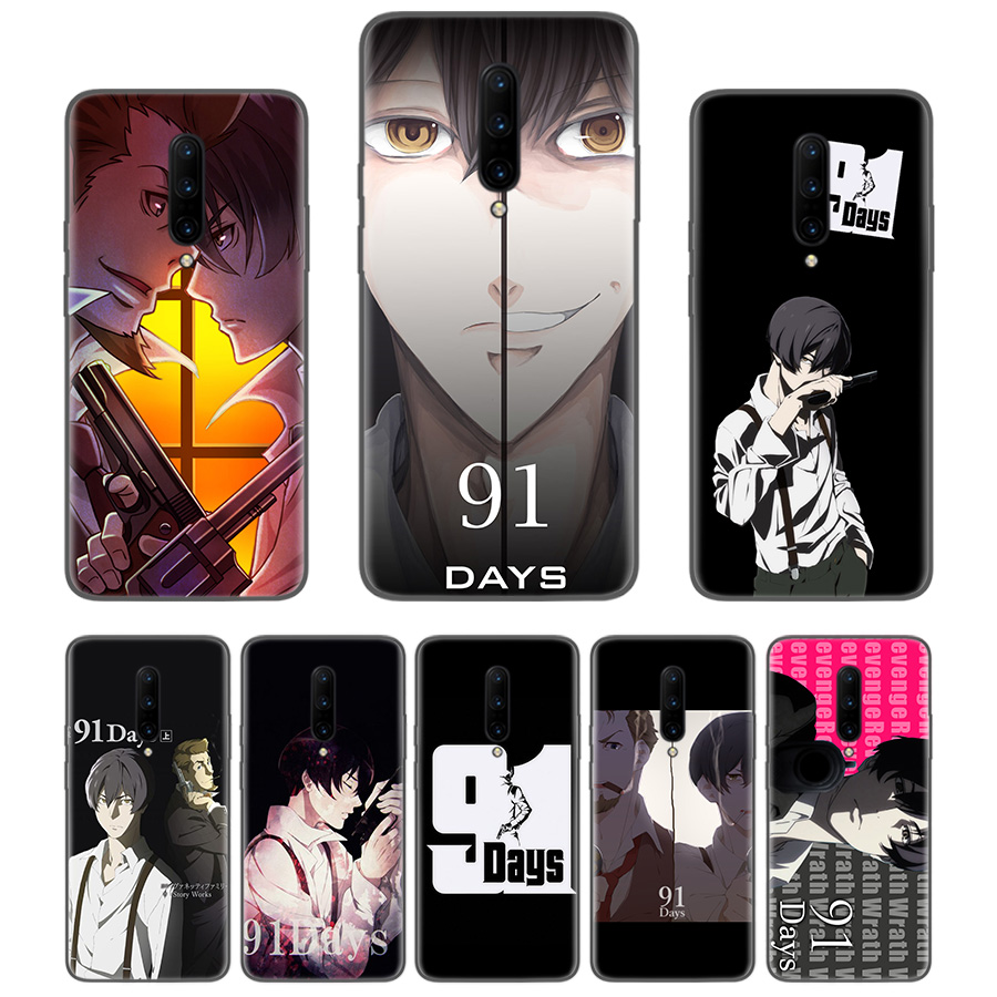 <font><b>91</b></font> <font><b>Days</b></font> Black Coque Phone Case For Oneplus 1+7 Pro 6 6T 5 5T 3 3T 7Pro Art Gift Pattern Customized Cover Fashion image