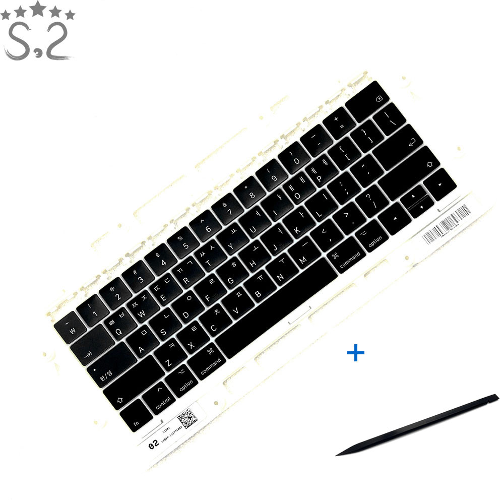 A1706 A1707 Keycap KR Pro 13 Retina 15 Key-cap For Macbook Keyboard Keys Replacement Korean 2016 2017 image