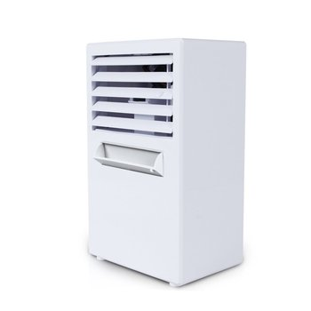 Summer Portable Mini Personal Air Conditioner Fan Air Conditioner Evaporative Air Cooler Misting Desk Cooling Fan Humidifier evaporative air conditioner air cooler fan indoor portable cool humidifier battery operated with quiet 2 speed air cooling fan