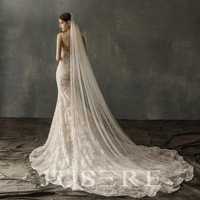 handmade long veil with pearl luxury veil Wedding Belly Bride Veil Long Cathedral Wedding Veil