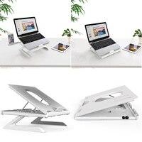 Portátil ajustável portátil suporte do portátil apto para 12-17 polegada notebook computador dobrável riser titular universal para tablet portátil