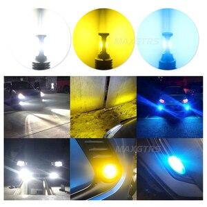 Image 5 - 2x H1 H3 H7 H8 H11 9005 HB3 9006 HB4 H16 3570 Chip Canbus Led lampe für Auto Led Nebel fahren Lichter DRL Lampe Weiß 6000K Gold