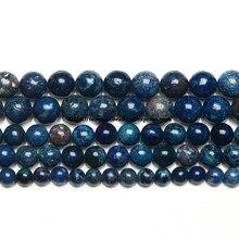 Pierres naturelles Lapis Lazuli, 15 pouces, nouveau, couleur, sédiments de mer, Turquoises, jaspe impérial, perles rondes, amples, 6, 8, 10MM