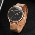 WAKNOER деловые механические часы с сетчатым ремешком  мужские водонепроницаемые автоматические часы  мужские часы с автоматической датой  Ро...