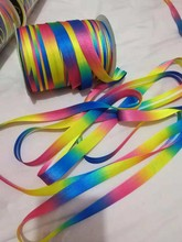15mm Colorful Fold Bias Binding Tape Stage Dress-making Dress Cheongsama Upholstery Sewing Textile Webbing Accessories
