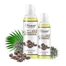 Disaar 100% orgânica óleo de rícino corpo relaxamento massagem óleo essencial mistura hidratante corpo emoliente iluminando óleo 100ml