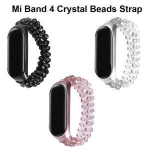 Para xiaomi mi banda 4 pulseira mi band4 pulseira miband 4 elástico inteligente