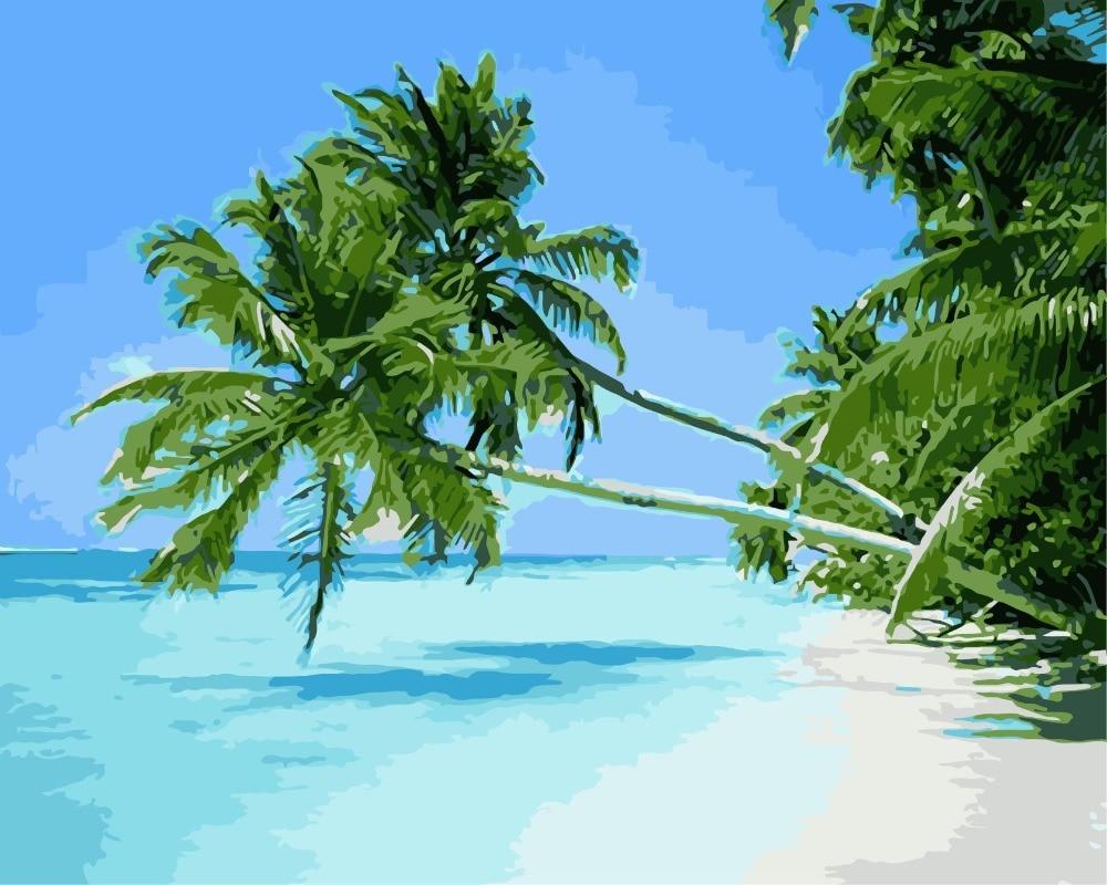 WM-1783-蓝海椰树