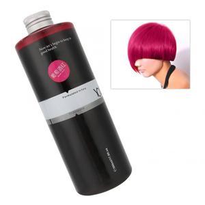 Image 2 - 500 Ml Kleurrijke Diy Haarverf Kleuren Crème Lange Lasing Semi Permanente Haarkleur Crème Kappers Gereedschappen Schoonheidssalon