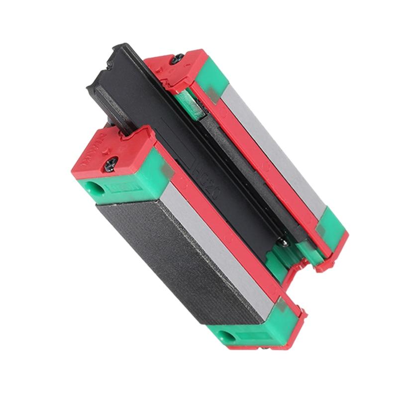 Горячая сталь HGH20CA 20 мм линейный рельсовый Направляющий Блок для станков с ЧПУ Запчасти производственное оборудование