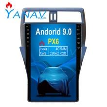 16 inch Android Car GPS navigation For-TOYOTA Land Cruiser Prado 2018 Car auto radio player multimedia head unit FM/AM Stereo