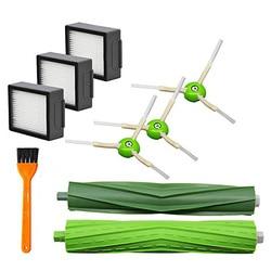 9x/lot zestaw filtrów szczotek rolkowych i bocznych zamiennik dla IRobot Roomba I7 E5 E6 Series w Szczotki do czyszczenia od Dom i ogród na