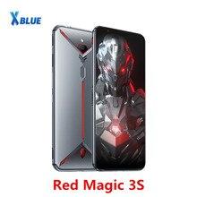 """הגלובלי גרסה נוביה אדום קסם 3S Smartphone 8GB 128GB 6.65 """"Snapdragon 855 בתוספת 48.0MP + 16.0MP 5000mAh Fastcharge משחק טלפון"""