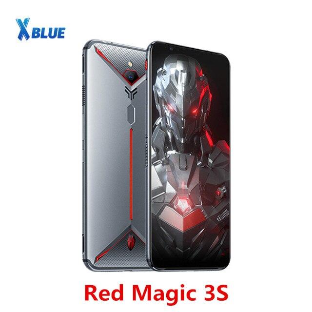 """Globale Versione Nubia Magia Rossa 3S Smartphone 8GB 128GB 6.65 """"Snapdragon 855 Più 48.0MP + 16.0MP 5000mAh Fastcharge Gioco del telefono"""