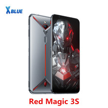 "الإصدار العالمي من هاتف Nubia Red Magic 3S الذكي 8GB 128GB 6.65 ""Snapdragon 855 Plus 48.0MP + 16.0MP 5000mAh Fastcharge Game phone"