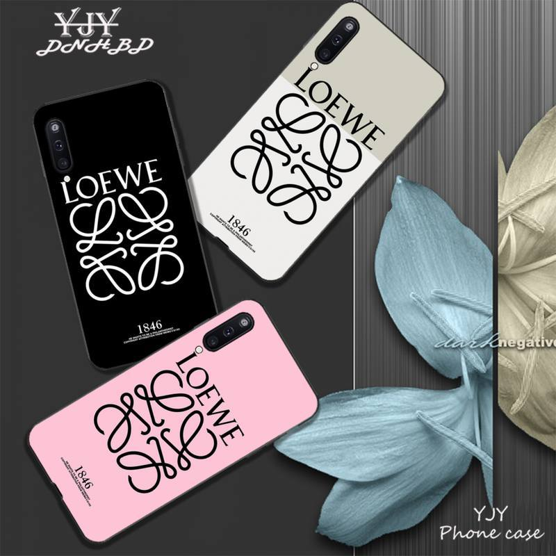 YJY Spain brand L W mobile phone cover <font><b>case</b></font> for <font><b>Samsung</b></font> galaxy <font><b>A6</b></font> A7 <font><b>2017</b></font> 2018 A9 A10 A20 A30S A40 A50 A70 A80 coque image