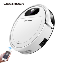 2019 New Liectroux 11S Robot Vacuum Cleaner,Map Navigation,WiFi App,Air Pump Water Tank,Gyroscope,Electric Control,Wet Dry home