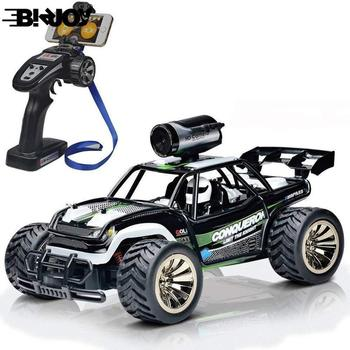 RC Car with WIFI HD Camera Real-time Transmission Drive Climbing Car Remote Control Off-Road Vehicle 1:16 Toys Children Gifts