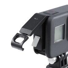Adattatore per porta di ricarica di tipo C rimovibile per fotocamera GoPro Hero nero 8 sport