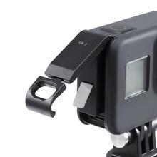 Oplaadbare Batterij Deksel Deur Batterij Cover G8 7 Voor Gopro Hero Black 8 Sport Camera Verwijderbare Type C Poort Opladen adapter