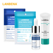 LANBENA Face Mask Acne Treatment Facial Mask Skin Care Acne Pimple Remover Tools Patches Stickers Black Mask Peeling Face Masks