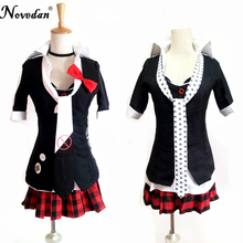Danganronpa Cosplay Anime Junko Enoshima Emboitement Inushio Kimuchi Dangan Ronpa Trigger Happy Havoc Cosplay Costume цена
