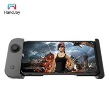 HandJoy X-MAX Mobile Pubg Controller Gamepad for Android/IOS Smartphone Wireless Bluetooth 4.0 Singe-hand Joystick handjoy x max wireless bluetooth 4 0 singe hand game controller with telescopic for android ios smartphone phone controller