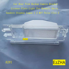 EzZHA Car Rear View Backup Camera Bracket License Plate Light For Renault Dacia Sandero Stepway Logan 1 2 MCV Pulse Clio 2