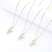 Womens Simple Pendant Necklace Personality Design New Wedding Jewelry Dinner Ladies Fashion Accessories