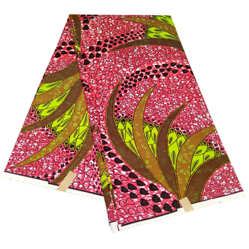 2020 Wholesale Free Shipping Latest Ankara African Real Wax Prints Fabric Polyester High Quality Pagne